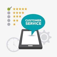 Kundendienstgesprächs-Blasentablettunterstützung
