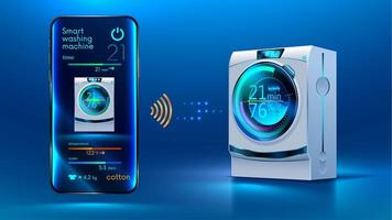 intelligente Waschmaschine