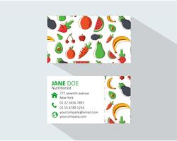 Fruit Business Card Template