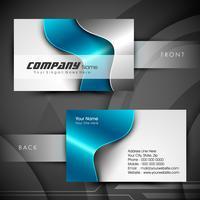Set di biglietti da visita o da visita professionale e di design. EPS 10.