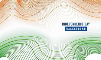 illustrazione festiva della festa dell'indipendenza in India celebrazione il 15 agosto