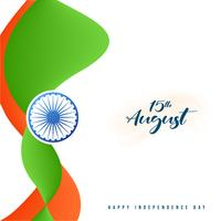 15 augustus Happy Independence Day van India