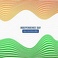 Simpatico abstract, banner o poster per il 15 agosto, giorno dell'Indipendenza dell'INDIA