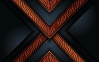 diseño de fondo abstracto de madera negra oscura