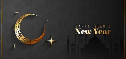 Greeting Card For Islamic New Year