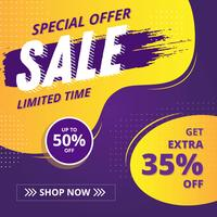 Sales Banner Vector design