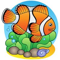 Cartoon Style Goldfish
