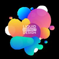 moderno design liquido astratto vettoriale