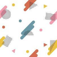 Abstract geometrisch stijlpatroon