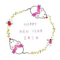 feliz ano novo quadro