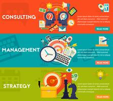 Consulting, Management and Strategy Concept