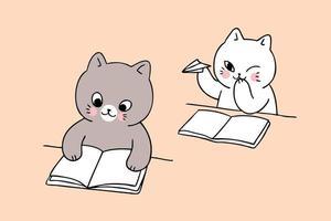 ritorno a scuola giocando a gatto