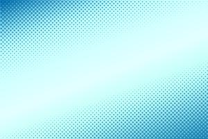 Comic style halftone gradient blue background