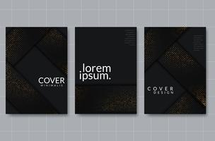 Set of elegant background design