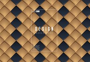 Black and Gold Geometric Background