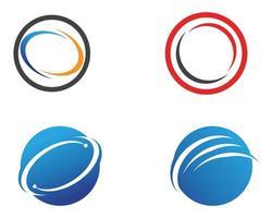 Conjunto de modelo de carta C logotipo