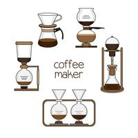 Set of coffee makers