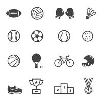 sport and equipment icons