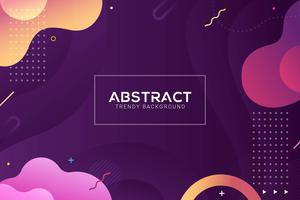 dynamic abstract liquid background. Colorful and gradient style vector