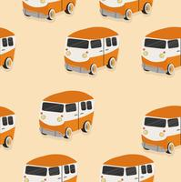 orange van pattern