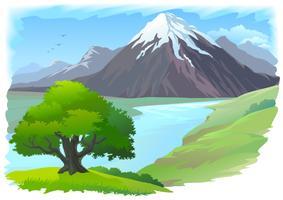 Uma bela paisagem