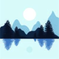 Un lago tranquillo