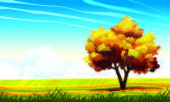 Uma árvore solitária