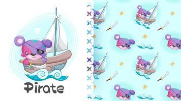 Nettes Piratenbärentier