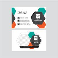 Polygon abstract Corporate Business Card Design