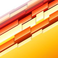 Abstract geometric orange and yellow pattern