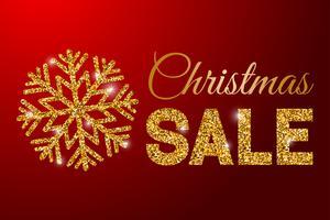 Affiche de vente de Noël