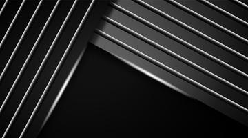 Texturas modernas abstractas de fondo oscuro vector