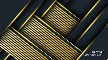 Gold Abstract background overlap color