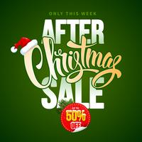 After Christmas Sale Design