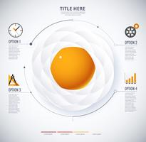 infographic diagram of Fried Egg and food concept