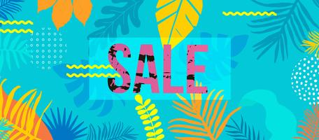 Sale website banner