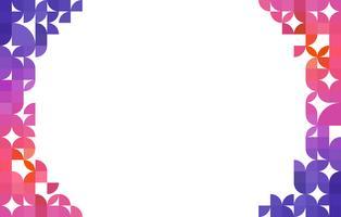 abstrato com centro de espaço em branco de forma para texto