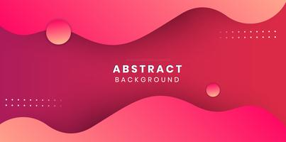 Minimal pink abstract background vector