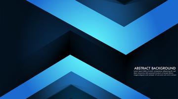 Astratto sfondo blu con triangoli