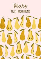 Hand Drawn Pear Pattern