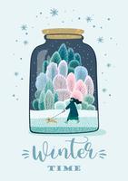 Vintertidskort