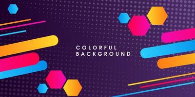 Colorful abstract geometrical background