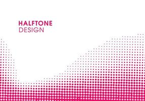 Abstract Pink modern halftone background design