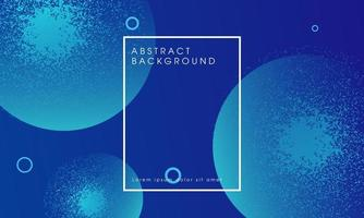 Blue abstract glowing particle design background