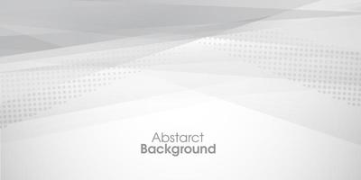 Modern abstract gray background vector