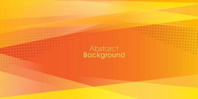 yellow polygonal vector background