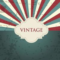 Vintage grunge background with sunburst