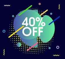 abstract sale graphic