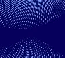 Blue abstract vector blue background with halftone dotes