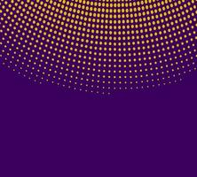 Golden halftone with purple